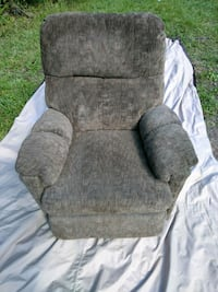 gray fabric padded sofa chair Pensacola, 32526