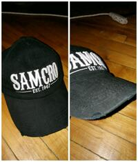 Sons of Anarchy SAMCRO hat with express rips on brim Montréal, H2P 2E4
