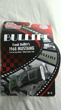 Racing Champions Bullitt 1968 Mustang Die Cast Car