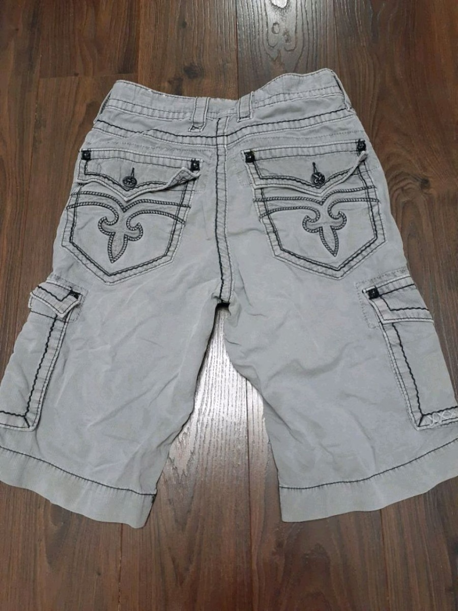 Photo Mens rock revival cargo shorts sz 29