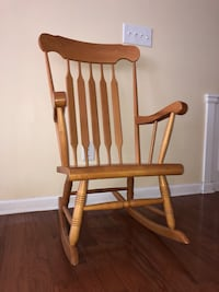 Real Wood Wooden Rocking Chair Alpharetta, 30076