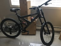 black and gray full suspension mountain bike Port Coquitlam, V3C