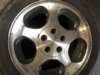 1996 Ford Mustang cobra wheels with tires Burbank, 91501
