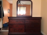 Dresser with Mirror and Night Table Set Surrey, V3W 8M3