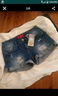Size Small New Wax Jean shorts Lancaster