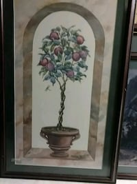 white and purple petaled flower painting Durham, 27713