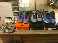 Jordans and Nikes 8 pairs- Best offer  Platte City, 64079