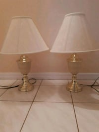 two white and brown table lamps Regina, S4S 6Y8
