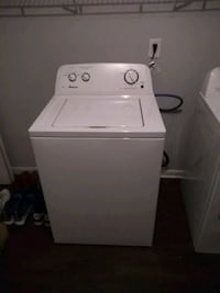 white Amana top-load clothes washer Charlotte, 28227