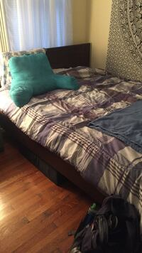 Queen mattress and bed frame in Allston! Boston, 02134