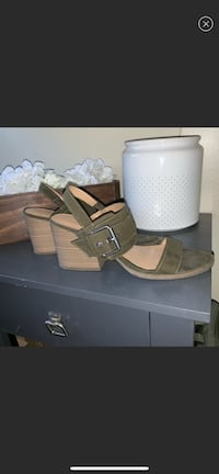 Military Green Sandals