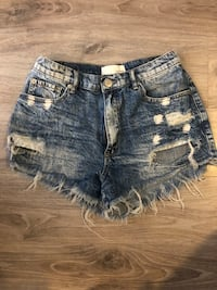 Garage cut off jean shorts  Ottawa, K4A 3Z2