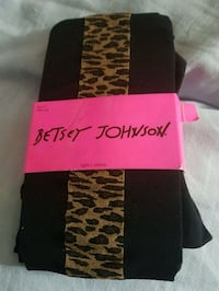 Betsy Johnson tights  Whitby, L1N 8X2