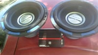 black and gray subwoofer speaker West Richland, 99353
