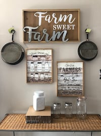 Farm style home decor. Each sold separately  Santa Ana, 92707