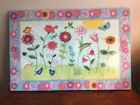 Painted canvases for kids room Triangle, 22172