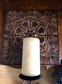 Decorative wall sconce with candle   Columbus, 43004
