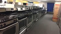 Stainless steel gas stoves excellent condition 90 days warranty  Windsor Mill, 21133