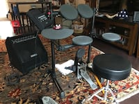 black and gray drum set Alexandria, 22304