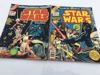 Star War Comic Books Volume 1 and 2 fair condition  Shaler, 15116