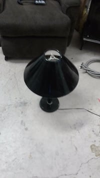 black and gray table lamp Victoria