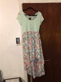 XL Green and white floral scoop-neck dress San Antonio, 78214