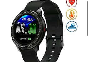 Smart Fitness Watch, 1.3-inch Touch Screen, Waterproof GPS NEW ½ PRICE
