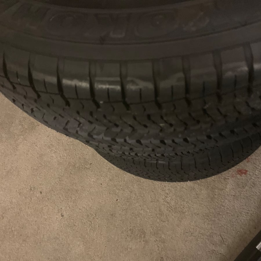 "New tires. Fore sale or trade my 17"" tires for 18"" tires"