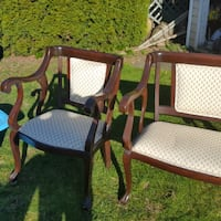 Antique Bench & Chair VANCOUVER