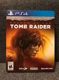 Shadow of the Tomb Raider Croft Steelbool Edition for Ps4 Oakville, L6J 6Z8