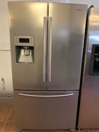 Samsung French Door Bottom Freezer Refrigerator 1 Year Warranty  San Antonio, 78239