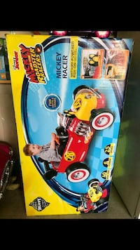 red and yellow Mickey Roadster Racer ride-on toy b Hutto, 78634