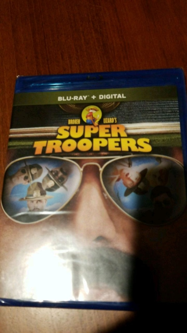 Super Troopers Blu Ray - Brand New Sealed