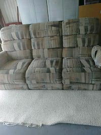 gray and brown fabric 3-seat sofa Palm Coast, 32164