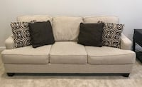 gray fabric 3-seat sofa Washington, 20024