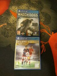 Watch Dogs + Fifa 16 Deluxe Edition  Larvik, 3271