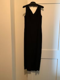 Nordstrom Preview Collection long black dress Washington