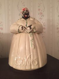 White and black dressed porcelain doll Ocala, 34471