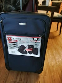 New Tag Travel Suitcase