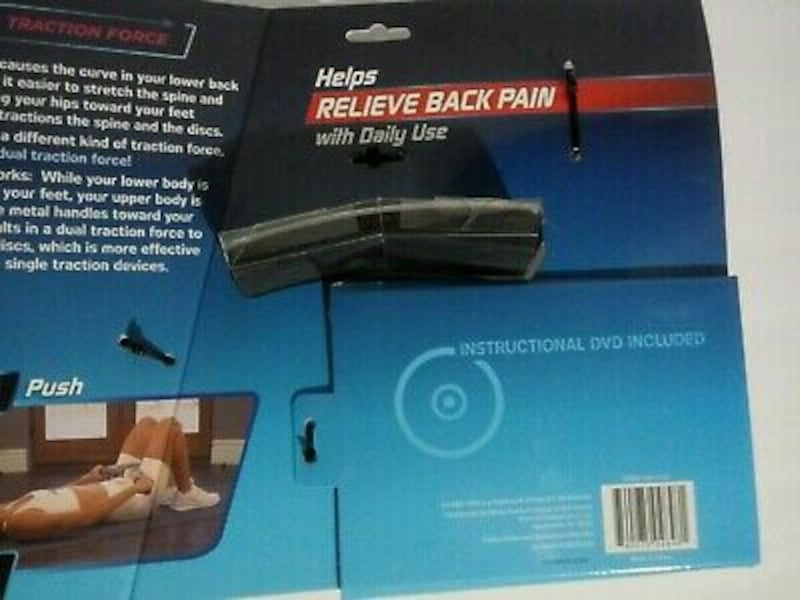 NEW Lo-Bak Trax portable Spinal Traction Device & Bonus Stretches DVD 4f8845d3-9b4e-4aa8-b175-7b621d7c3021