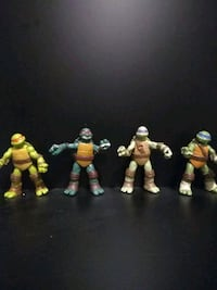 assorted color action figure collection Olney, 20832