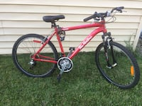 red and black hardtail mountain bike Lloydminster (Part), S9V 1E7