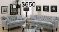 New Couch and Loveseat only $50 down  Castaic, 91384