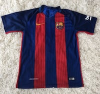 FCB club jersey. Size: Adult Small 308 mi