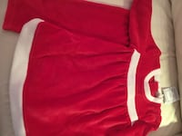 New Mrs Claus 9-12mo velour holiday dress and pants Arlington, 22207