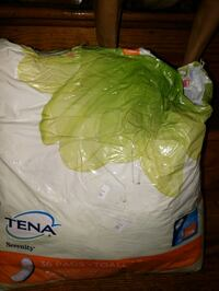 Tena leakage protection, open pack. Asheville, 28801