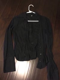 New black h&m dress shirt first small and medium. Colton, 92324