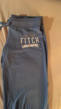 Blue New York Fitch string pants
