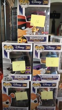 Darkwing Duck Funko Pop Lot Toccoa, 30577