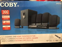 Coby - 5.1 Home Theater System - DVD Player Vaughan, L4H 2J6